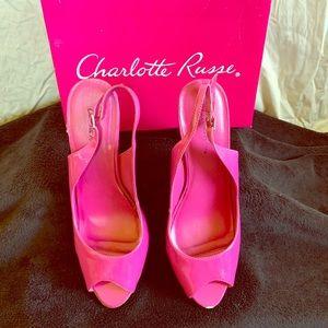 Charlotte Russe Fuchsia Heels